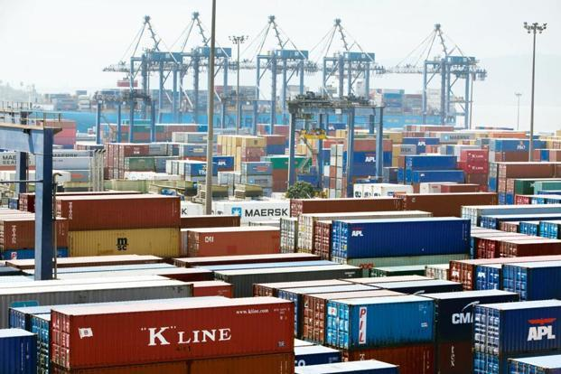 Trade deficit at 7-month low in September as exports soar