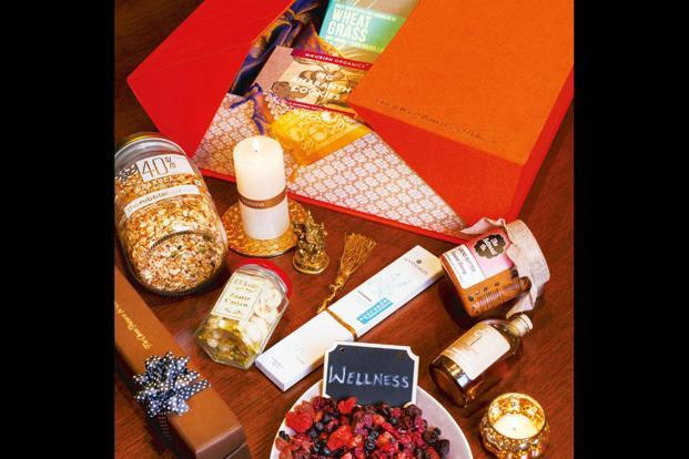The Organically Yours wellness hamper costs Rs7,500.