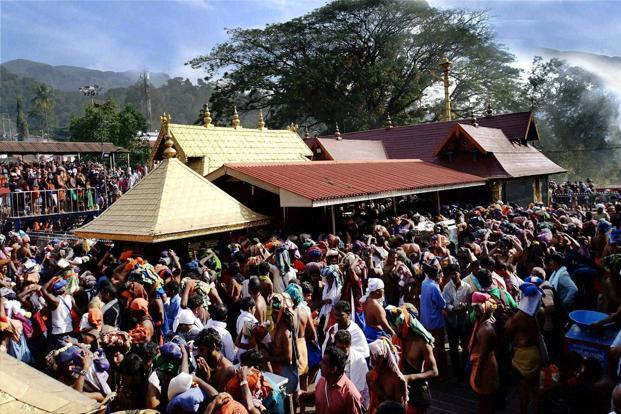 The court is hearing a PIL filed in 2006 by non-profit body Indian Young Lawyers' Association seeking entry for all women and girls to the Sabarimala shrine