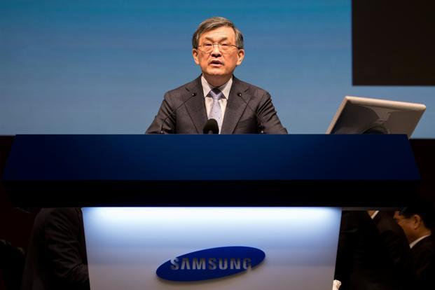 A file photo of Samsung Electronics vice-chairman and chief executive officer Kwon Oh-hyun. Photo: Reuters (Reuters)