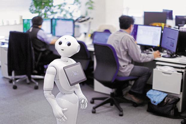 This is also the time to discuss the ethical issues associated with replacing humans. Photo: Bloomberg
