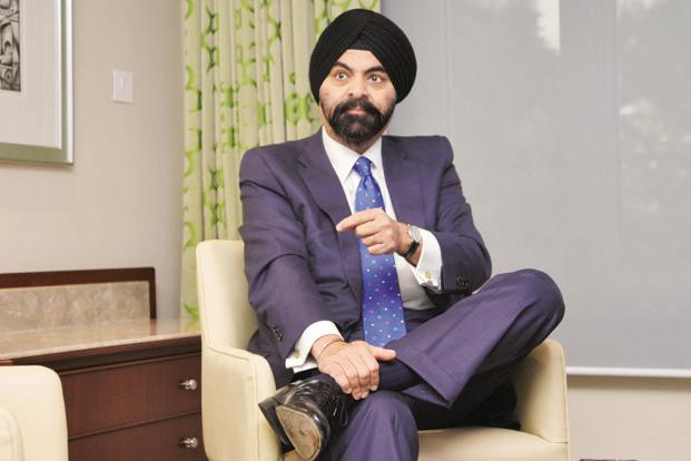 Mastercard CEO Ajay Banga. The company works closely with government and corporations across the world to set up payment systems. Photo: Ramesh Pathania/Mint