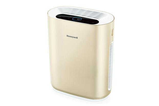 Honeywell Air Touch I8 looks classy in white, but genuinely impresses in the Champagne Gold variant.