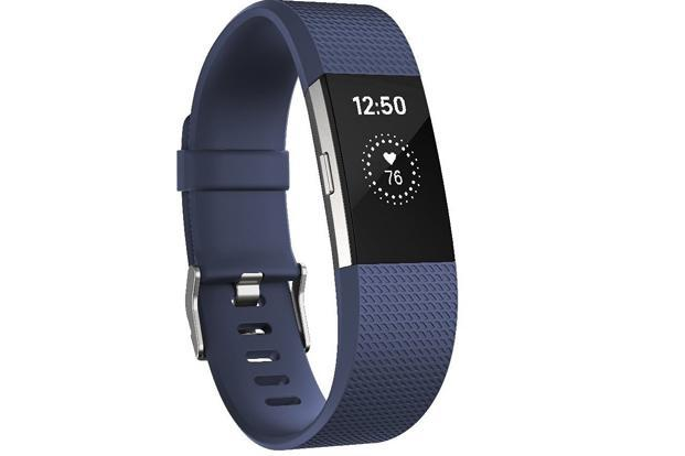 Fitbit Charge 2 has a bigger display and comes with a swappable band made of durable elastometer material and stainless steel buckle.