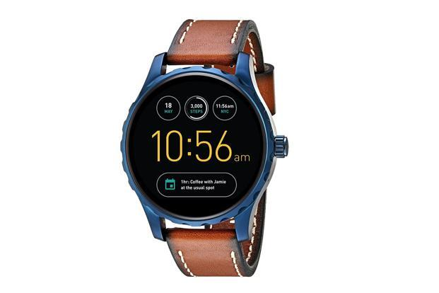 Fossil's Q Marshall runs Google's Android Wear OS.