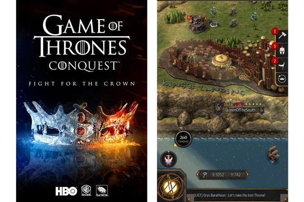 Fans of the popular fantasy TV series Game of Thrones can step into the world of dragons and queens in the official mobile game by Warner Bros.