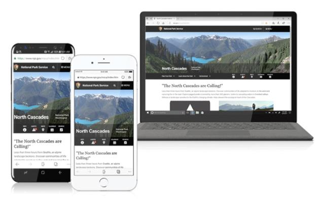 Microsoft's Edge browser is now available on smartphones.