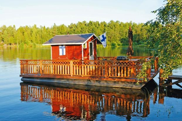 Summer cottages in the countryside usually come equipped with their own saunas. Photo: iStockphoto
