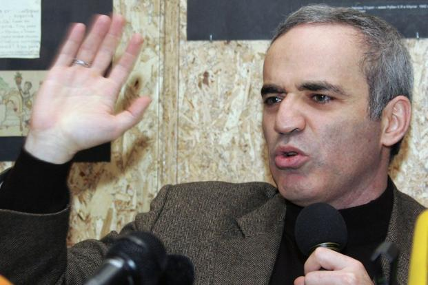 Gary Kasparov's new book, Deep Thinking, contains his thoughts on artificial intelligence, backed by his experience in dealing with the beast on the chessboard. Photo: AFP