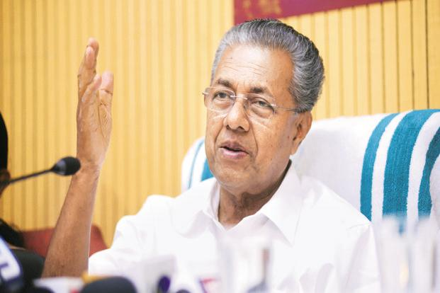 A file photo of Kerala CM Pinarayi Vijayan. Photo: Mint