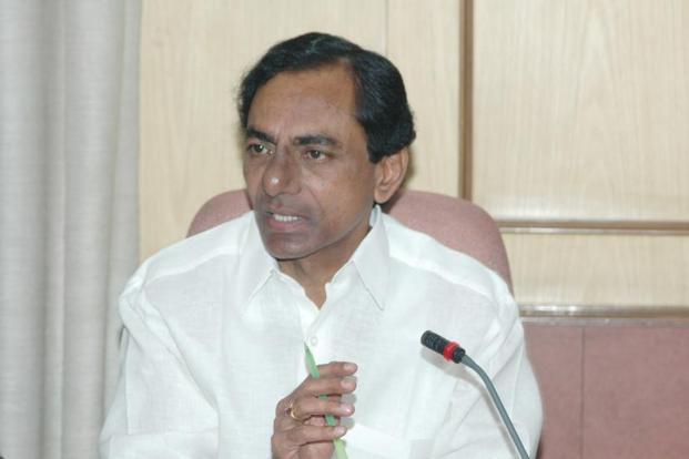 At the meeting, Telangana CM K. Chandrasekhar Rao said minorities should have a 10% quota in the state's double-bedroom housing scheme for economically weaker sections. Photo: HT