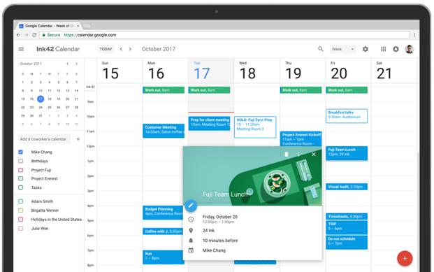 To access the new Calendar on web, login to your Google account and select Calendar in the app menu in any web browser.
