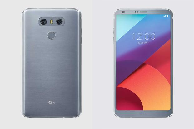 LG G6 offers a 5.7-inch screen with very thin bezels.
