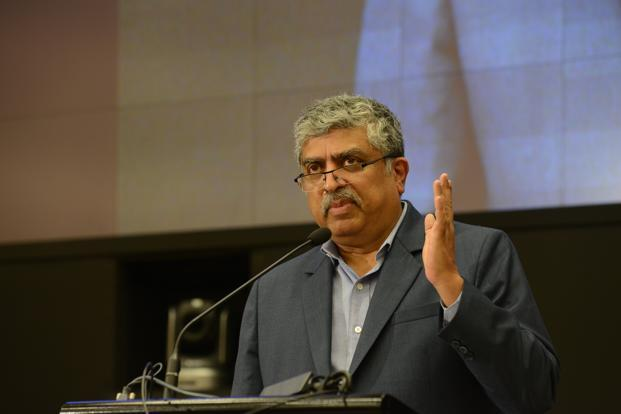 Investors want to know what Nandan Nilekani wants to do about the suspected board-level lapses during the tenure of departed CEO Vishal Sikka. Photo: Hemant Mishra/Mint