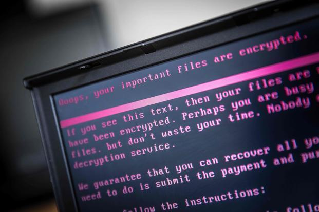 Ukraine was the chief victim of a major cyberattack earlier this year. Photo: AFP