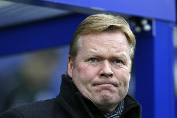 Everton spent almost £150 million in  the summer transfer window but the results haven't been to Ronald Koeman's plans. Photo: AP