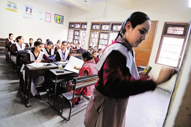 A circular to this effect was issued by the Directorate of Education on 17 October. Photo: Priyanka Parashar/Mint
