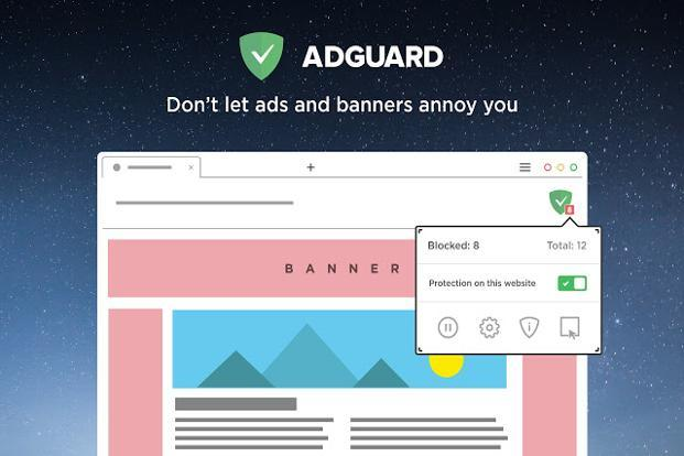 Adguard AdBlocker can also block ad trackers, which stalk your browsing sessions to bombard you with more appropriate ads.