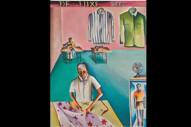'De-Luxe Tailors' by Bhupen Khakhar. Photo: Sotheby's