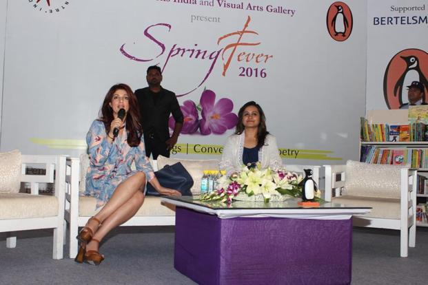 Twinkle Khanna (left) at an earlier edition of Spring Fever.