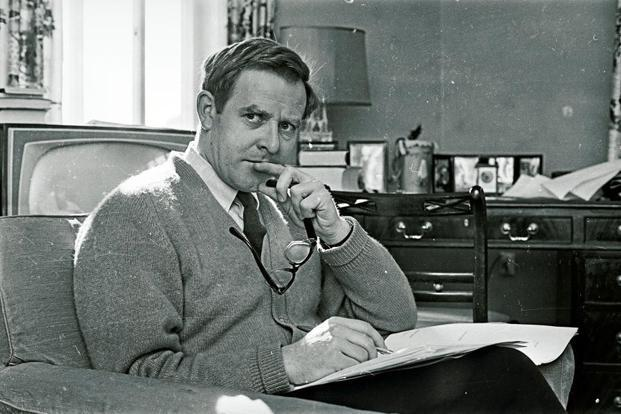 The author in 1965. Getty Images