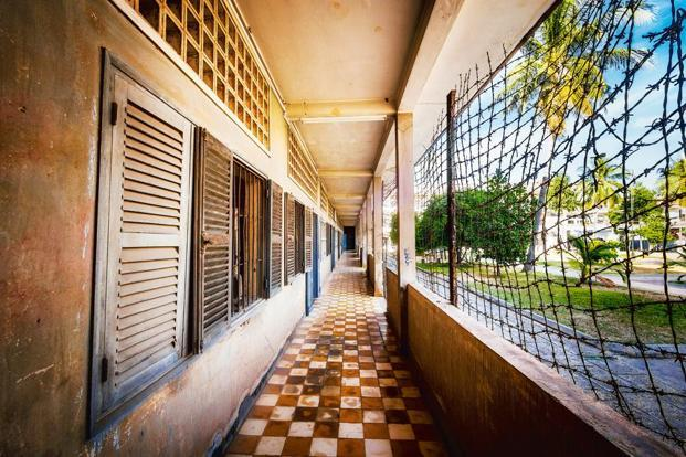 A view of the Tuol Sleng Genocide Museum in Phnom Penh, Cambodia. Photo: iStockphoto