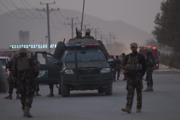 In two separate incidents on late Saturday, the Taliban group attacked several police checkpoints in southern Zabul and Ghazni provinces, killing 15 police officers and more than 10 other people, according to local officials. Photo: AFP