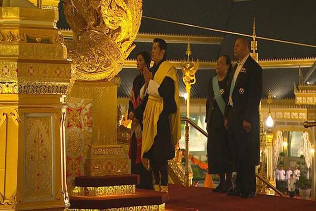 Bhutanese King arrives in India on four-day visit