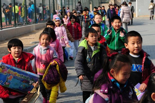 Concerns over an ageing population and a shrinking workforce saw China loosen the one-child policy at the beginning of 2016. Photo: AFP