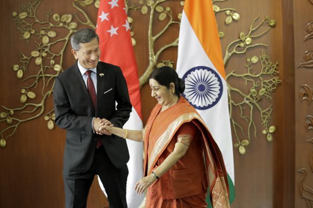 India, Singapore discuss ties at Joint Ministerial Committee meet