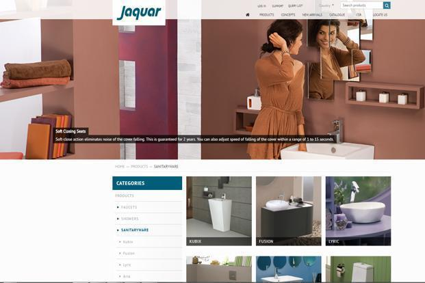 Jaquar has five plants in India of which four are for bathroom fittings and one for lighting in Manesar in Haryana.