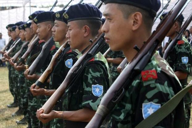 NSCN-K is the largest and most influential group after the Isak-Muivah (I-M) faction and at war not just with India but all other groups, in particular I-M. Photo: AFP