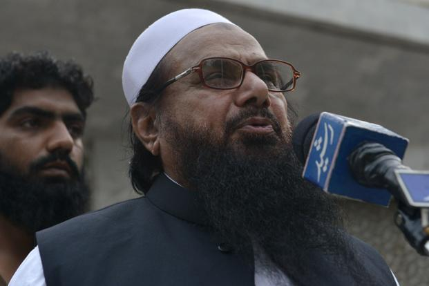 A file photo of Hafiz Saeed. The list includes three types of militants groups: those who launch attacks into Afghanistan, those who attack targets inside Pakistan and those who are focused on Kashmir. Photo: AFP