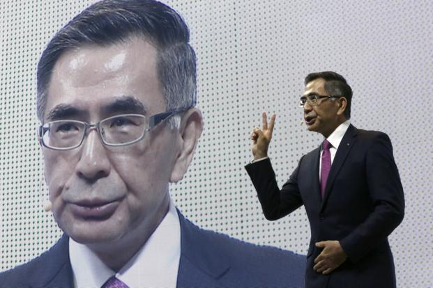 Suzuki CEO Toshihiro Suzuki. Suzuki dominates the Indian market through its majority stake in Maruti Suzuki but neither produces battery electric cars at the moment. Photo: AP