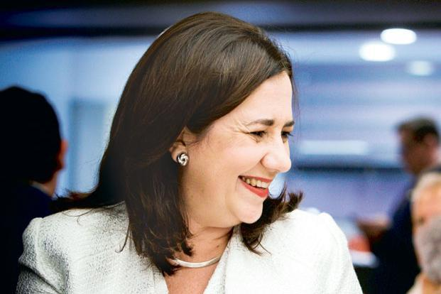 Queensland Premier Annastacia Palaszczuk's comments come ahead of elections to be held in the state later this month. Photo: Reuters