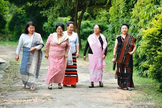 Members of Naga Mother's Association in Dimapur. Photographs: Indranil Bhoumik/Mint