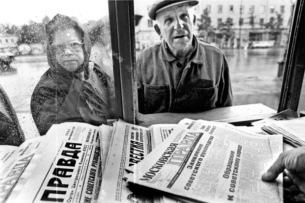 One of the most important things archival newspapers tell you about a story is how notable it was at the time. Photo: AFP