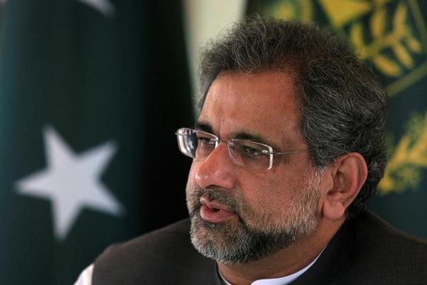Pakistan PM Shahid Khaqan Abbasi spoke on disqualification of his predecessor Nawaz Sharif, relations with India and the Kashmir issue at a conference on 'Future of Pakistan 2017' at the London School of Economics' South Asia Centre. Photo: Reuters