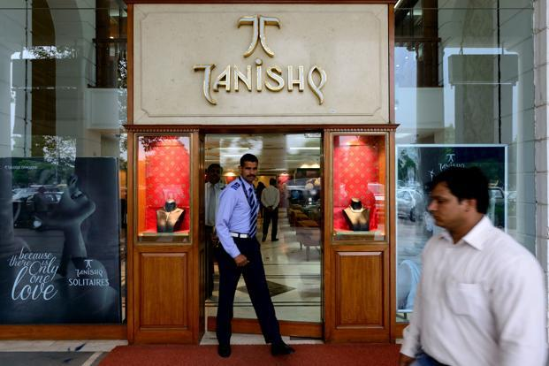 Titan stock touched an all-time high of Rs823.30 on the BSE and rose as much as 24.86%, its maximum gain since 31 October, 2005. Photo: Mint