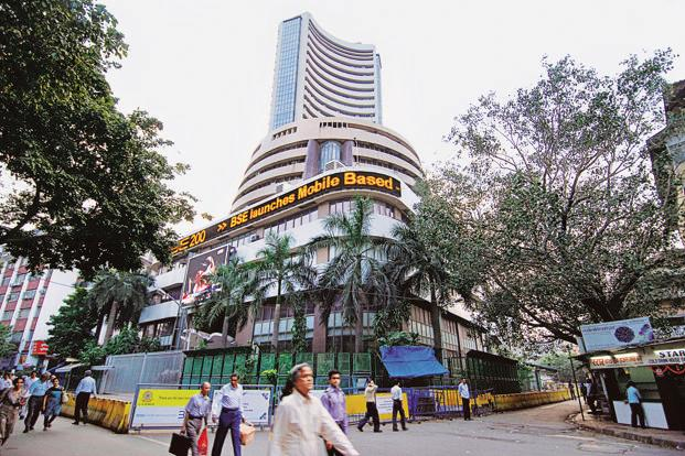 BSE Sensex and NSE Nifty open lower on Monday