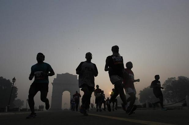 As the tapering period begins, rest more and pay attention to hydration and nutrition. A file photo from ADHM 2016. Photo: Raj K Raj/ Hindustan Times