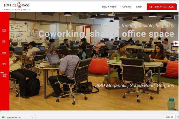 The Office Pass was started by Aditya Verma, co-founder and former CEO of property listings site Makaan.com, which was acquired by PropTiger in 2015.