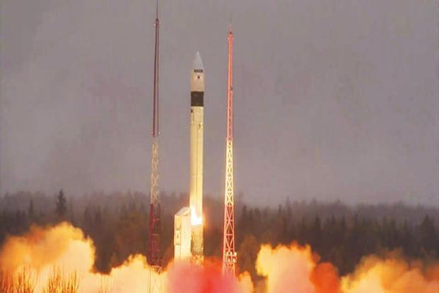 China launches navigation satellites