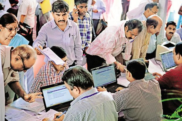 The data also reflects an increase of 23.28% in the category of individual e-filers who use the basic ITR-1 form. Photo: Pradeep Gaur/Mint
