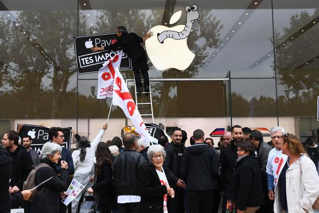 Apple said it moved profits to Jersey while making corporate changes to adapt to Irish tax laws tightening in 2015. Photo: AFP