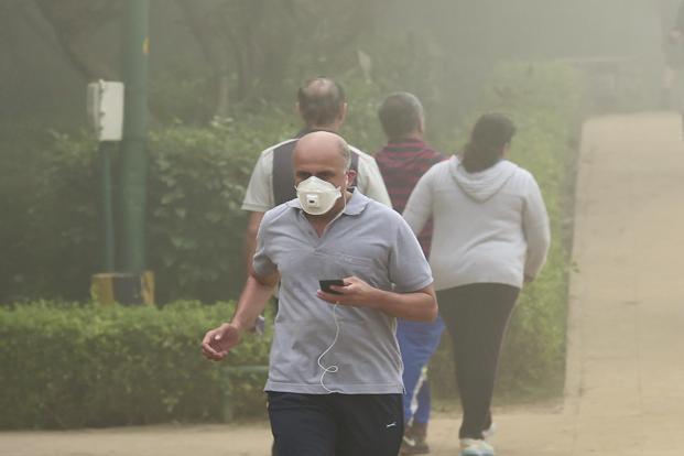 Delhi CM Arvind Kejriwal has asked his deputy Manish Sisodia to consider shutting schools for a few days after the air quality dropped to the 'severe' category on the air quality index in Delhi.