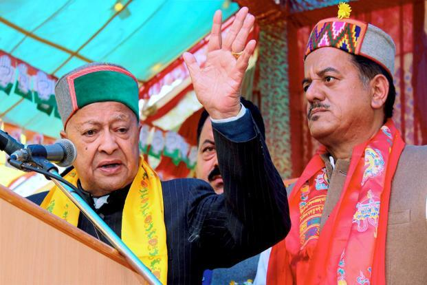 Himachal Pradesh CM and Congress veteran Virbhadra Singh. Photo: AP