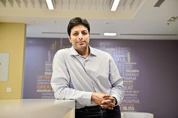 Amazon India's Amit Agarwal. Over the past 18 months, Flipkart has introduced schemes such as no cost EMI and product exchange offers that have helped the company differentiate its offering from Amazon's. Photo: Hemant Mishra/Mint