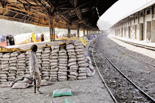 The Shree Cement stock fell 2.72% intraday and closed down about 1%. Photo: Priyanka Parashar/Mint
