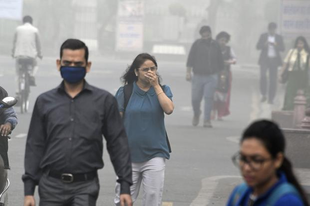 "Delhi's air quality was at the season's worst on Tuesday as a combined effect of smoke from stubble burning and moisture turned the city into a ""gas chamber"". Photo: AFP"